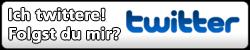 Twitter Button (PNG) Nummer 5 - Ich twittere! Folgst du mir? - 250px