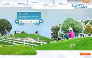 Auswahl einer ländlichen Arbeitsumgebung in Oxygenz