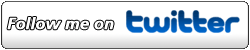 Twitter Button (PNG) Nummer 2 - Follow me on Twitter kursiv - 250px