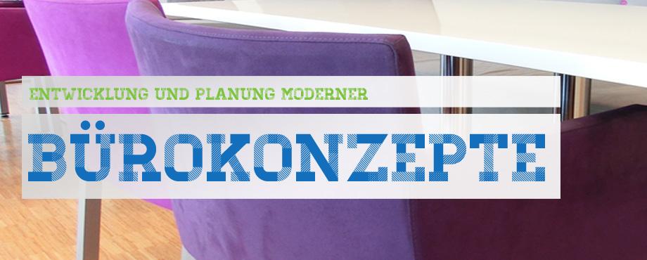 Entwicklung und Planung moderner Bürokonzepte