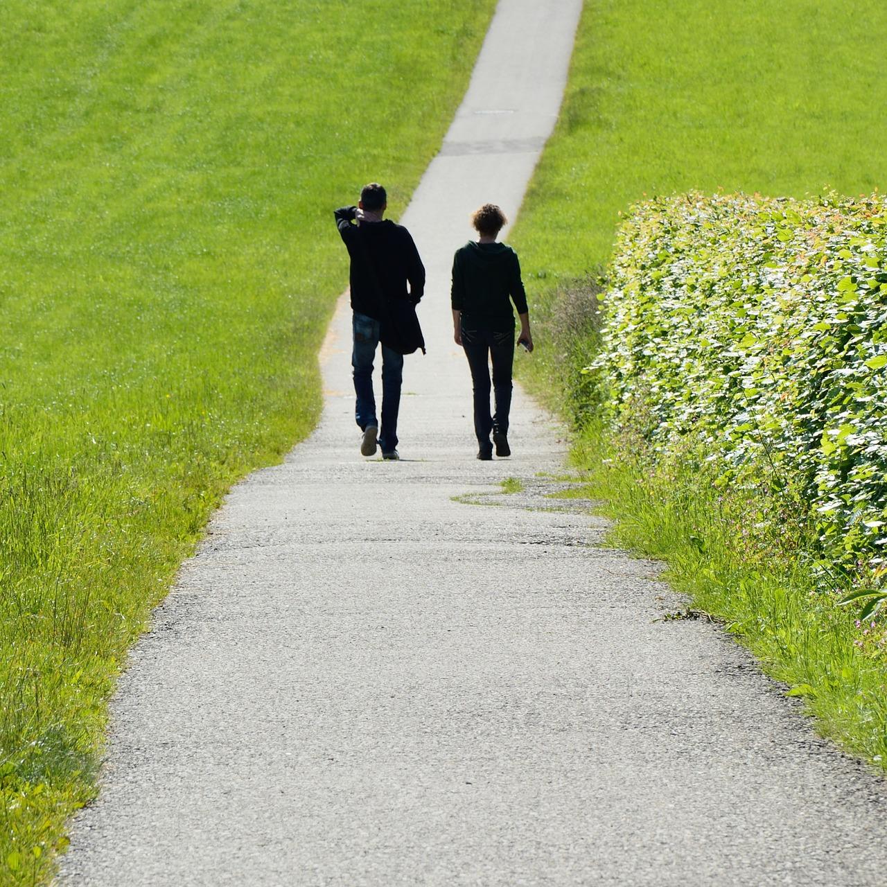 Meetings im Gehen - Spaziergang als Alternative zum Besprechungsraum